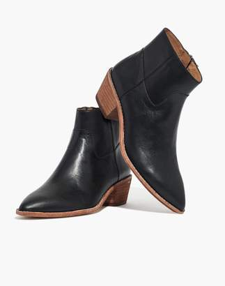Madewell The Charley Boot in Leather