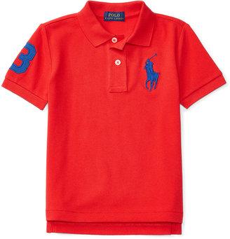 Ralph Lauren Big Pony Polo, Toddler Boys (2T-4T) & Little Boys (2-7) $35 thestylecure.com