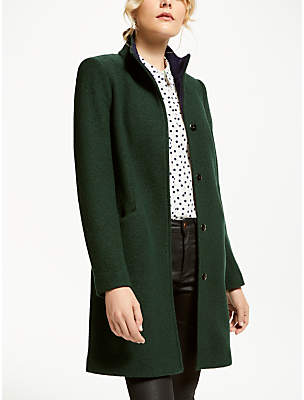 Boden Hengrave Tailored Coat, Chatsworth Green