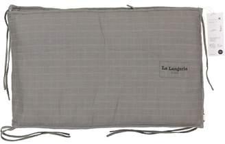 La Langerie Le Tour De Lit Bed Bumper Taupe Grey