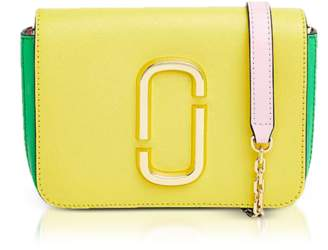 Marc Jacobs Saffiano Leather Hip Shot Convertible Shoulder/Belt Bag