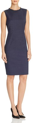 Elie Tahari Emory Sheath Dress $398 thestylecure.com