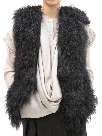 Mongolian Vest Fur Coat