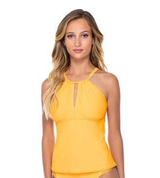 Sunsets Women's Mia Bra Sized High Neck Tankini Top Swimsuit