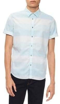 Calvin Klein Jeans Slub Weft Chambray Shirt
