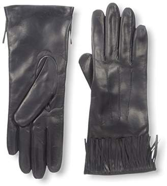 Portolano Women's Glove with Fringe