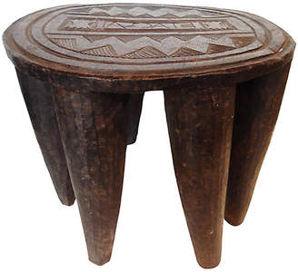 One Kings Lane Vintage Nigerian Nupe Stool