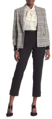 Ted Baker Bow Detail Textured Trouser