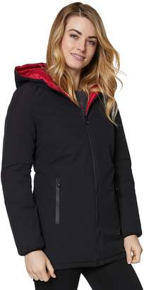 Women's Halitech Hooded Reversible Rain Jacket