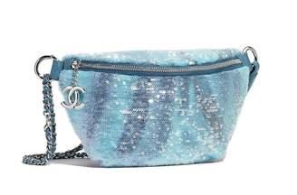 Chanel Glitter clutch bag