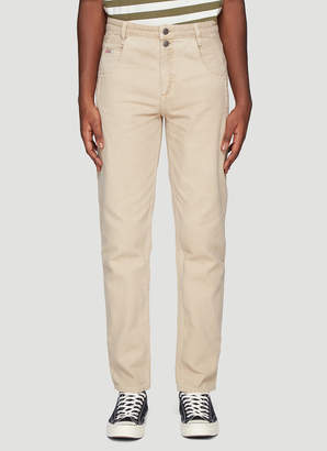 GUESS Infinite Archives X Jeans X Darted Straight Jeans in Beige