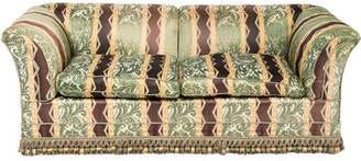 Silk Upholstered Loveseat