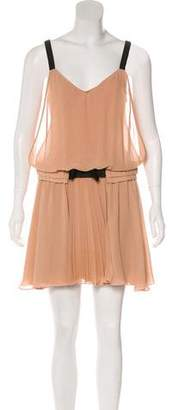 See by Chloe Pleated Knee-Length Dress
