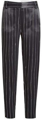 DKNY Striped Satin Pants