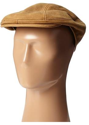Stetson Distressed Leather Ivy Cap Caps