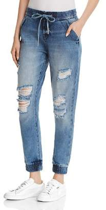 True Religion Jean-Style Jogger Pants in Live In Blues