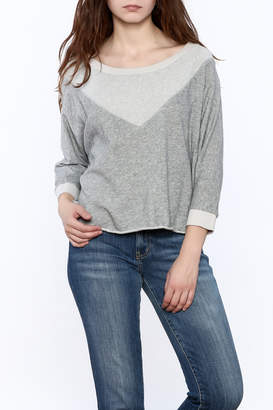 Kensie Grey Sara Sweatshirt