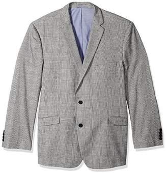U.S. Polo Assn. Men's Big and Tall Plaid Sport Coat