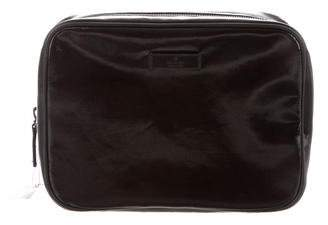 Gucci Leather-Trimmed Toiletry Bag