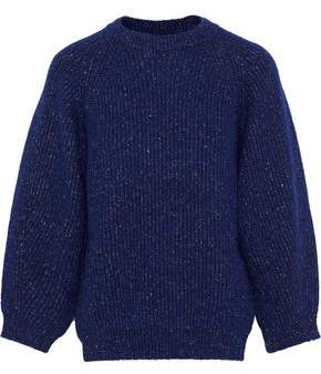 By Malene Birger Alliance Marled Ribbed-knit Sweater