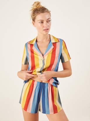 Reformation Short Pajama Set