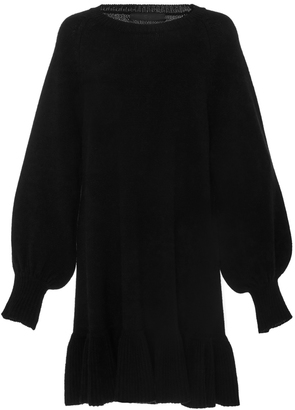 Co Balloon Sleeve Wool Dress $795 thestylecure.com