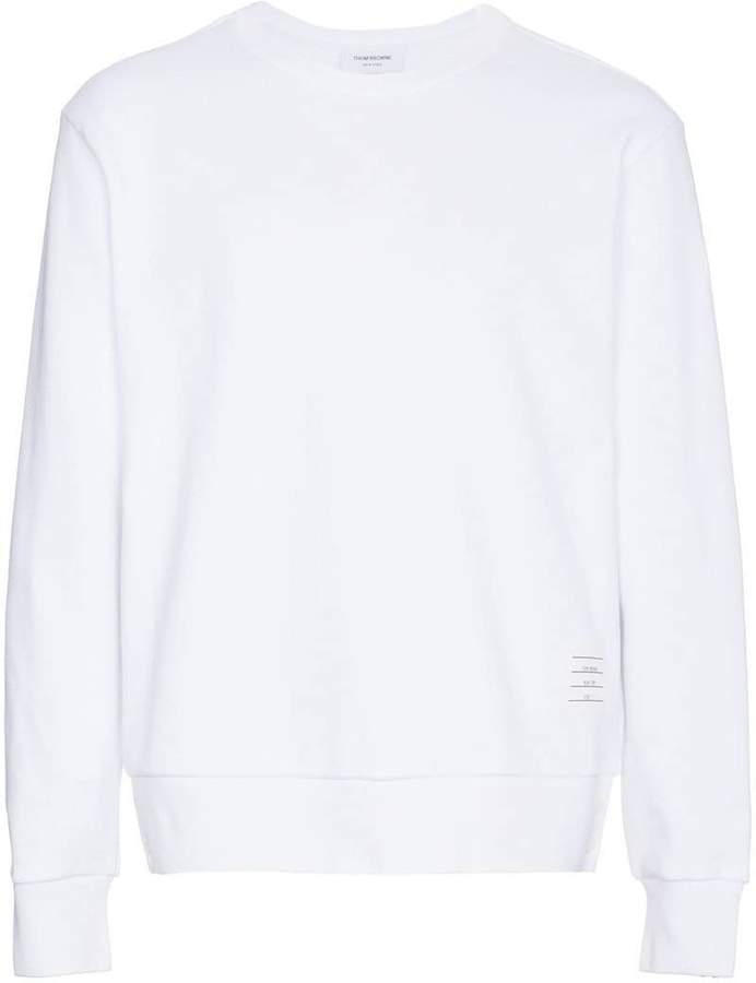 Sweatshirt mit dreifarbigen Streifen