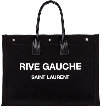 Saint Laurent Noe Tote in Black & White | FWRD