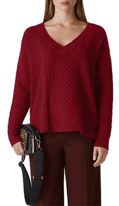 Whistles Cable Knit Sweater