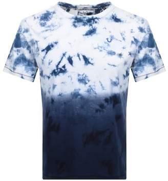 True Religion Cyber Wash T Shirt Blue