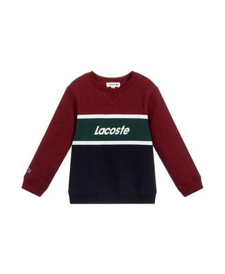 Lacoste Retro Striped Sweat