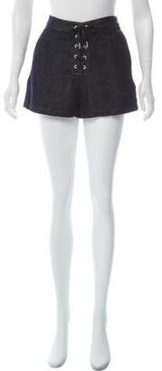 Rag & Bone High-Rise Mini Shorts