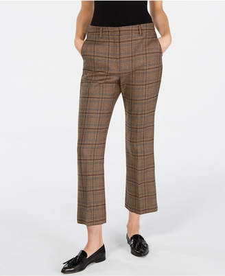 Max Mara Pantera Plaid Pants