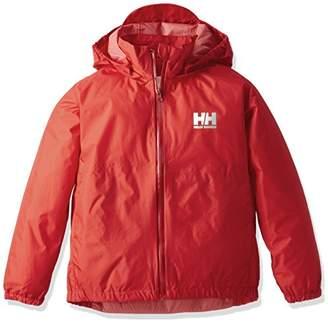 Helly Hansen (ヘリー ハンセン) - (ヘリーハンセン)HELLY HANSEN キッズ サンレインジャケット HOJ11702 R レッド 110