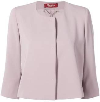 Max Mara cropped fitted jacket