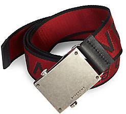 Givenchy Men's Logo Buckle Belt