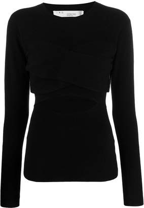 IRO Denny cut-out top
