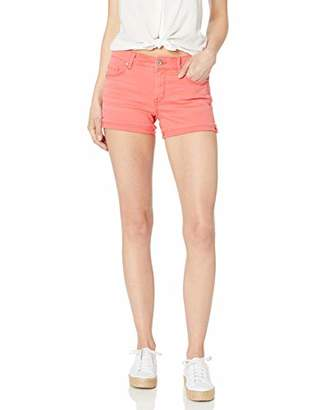 Jessica Simpson Women's Forever Roll Cuff Short, Gardner-Fray