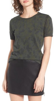 Women's Obey Fillmore Camo Tee $42 thestylecure.com