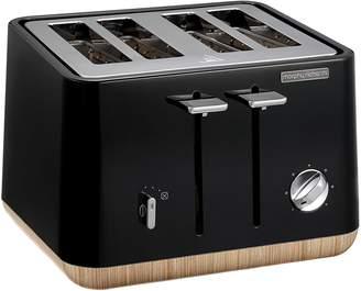 Morphy Richards Aspect Scandi 4-Slice Toaster, Black
