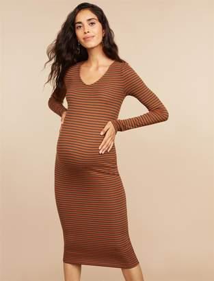 Motherhood Maternity Mimi Rib Knit Maternity Dress