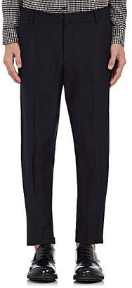 Vince Men's Linen-Wool Twill Tapered Trousers