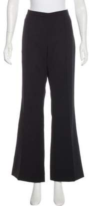 Andrew Gn Mid-Rise Wool-Blend Pants