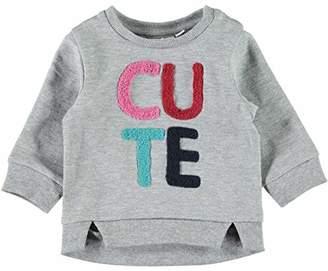 Name It Baby Girls' Nbfommi SWE O-Neck Bru Sweatshirt