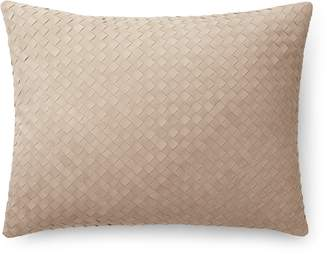 Ralph Lauren Home Ralph Lauren Reade Suede Throw Pillow