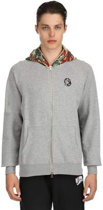 Hooded Lizard Camo Zip Up Sweatshirt