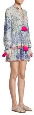 DAY Birger et Mikkelsen Hemant & Nandita Print Tassel Mini Dress