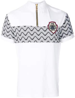 Class Roberto Cavalli zipped neck T-shirt