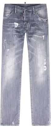 DSQUARED2 Cool Guy Graffiti Wash Jeans