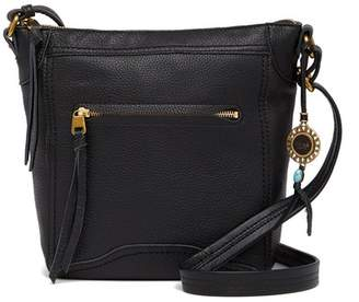 The Sak Tahoe North South Leather Crossbody Bag